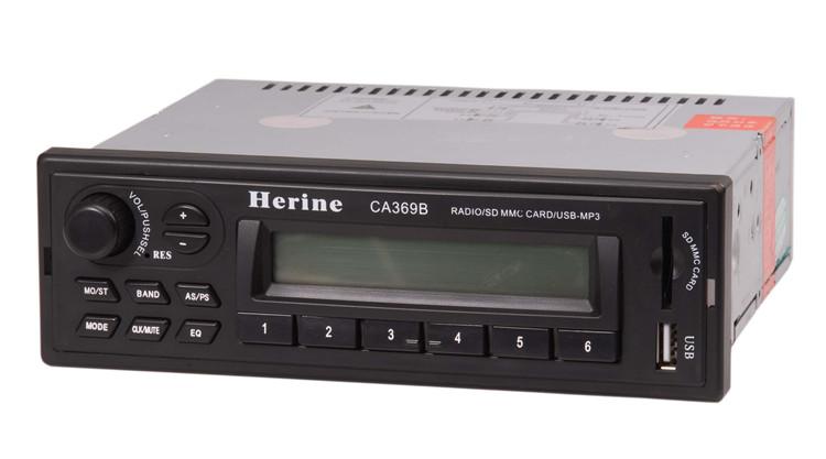 วิทยุบัสเครื่องเสียงรถยนต์ USB เครื่องเล่น MP3
