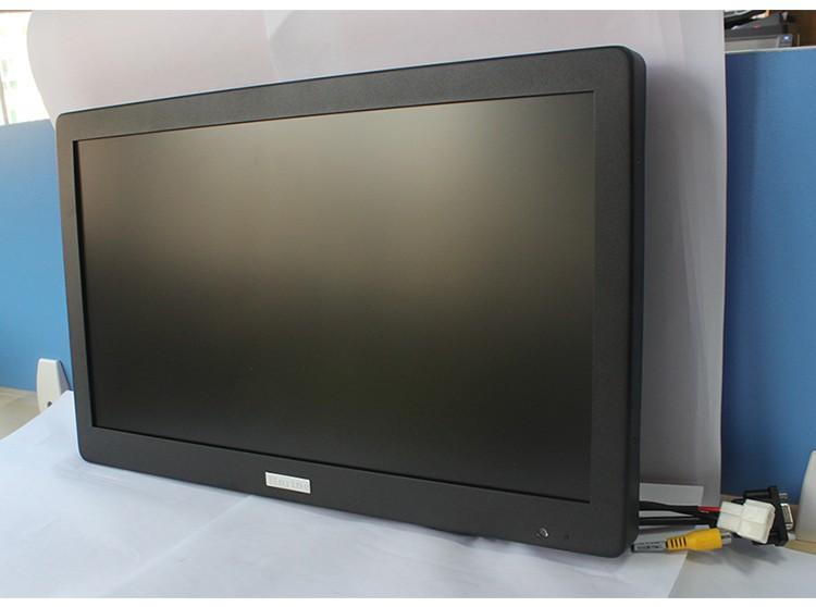 จอภาพวิดีโอสำหรับรถโรงเรียนขนาด 18.5 นิ้วจอภาพทีวีสำหรับรถยนต์พร้อม 720P