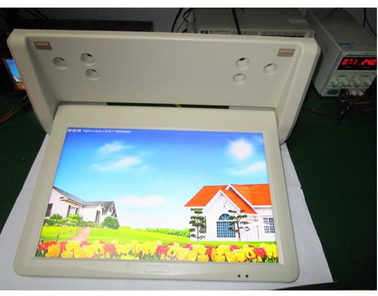 จอภาพความละเอียดจอ LED 18.5 นิ้วหลังจอทีวี LED ด้วยความละเอียด 12V 1366 X 768