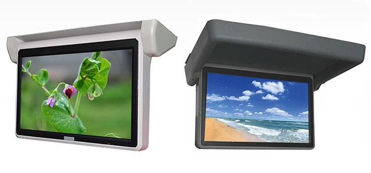 จอภาพออโต้ TFT ขนาด 18.5 นิ้ววางทีวีในรถที่มีคุณภาพดี