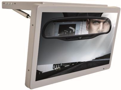 หน้าจอ LCD 19.5 นิ้วจอทีวีรถยนต์พร้อมช่องสัญญาณ AV