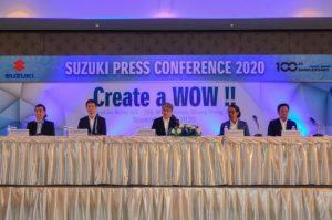 Suzuki ปรับโครงสร้างบริหารงานรถจักรยานยนต์ในประเทศไทย