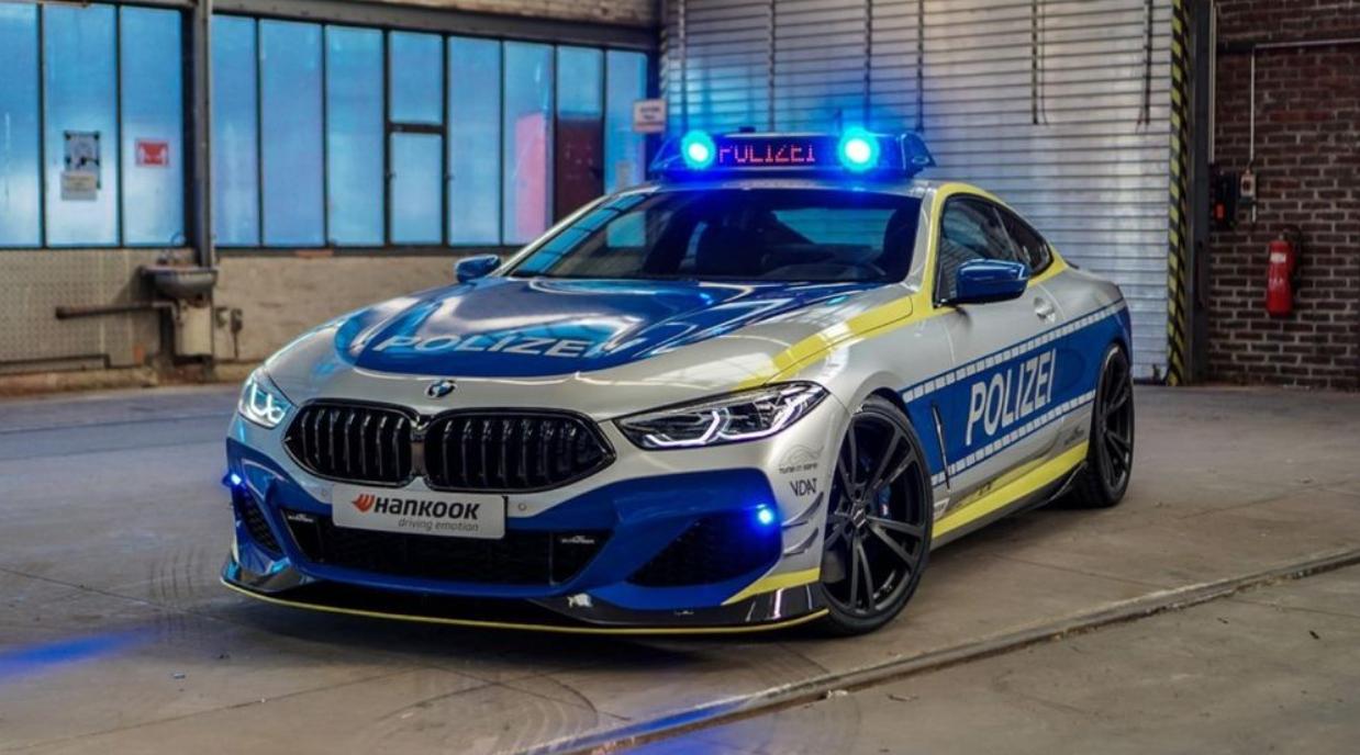 BMW M850i ในสไตล์รถตำรวจเยอรมัน 620 แรงม้า